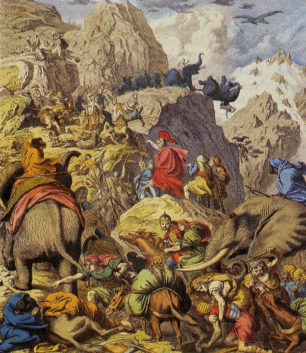 Thất bại thảm hại tại trận Zama, thiên tài quân sự Hannibal nướng hết 40.000 quân - Ảnh 1.