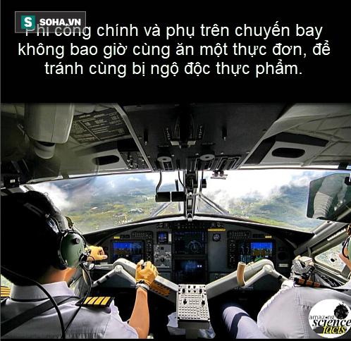 Sự thật thú vị: Vì sao hai phi công trên cùng 1 máy bay không bao giờ ăn cùng món? - Ảnh 2.