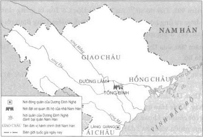 Dương Đình Nghệ vây thành Tống Bình, đánh tan cả quân đô hộ lẫn viện binh từ Nam Hán - Ảnh 1.