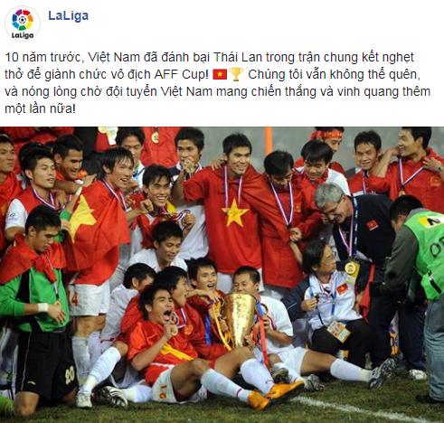 Nhắc lại chiến công lịch sử, giải đấu của Messi hết lòng ủng hộ Việt Nam vô địch AFF Cup - Ảnh 1.