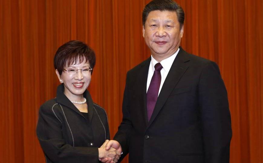 Cựu Chủ tịch Quốc dân đảng: Sẽ thống nhất và phải thương lượng thời gian thống nhất 2 bờ eo biển Đài Loan