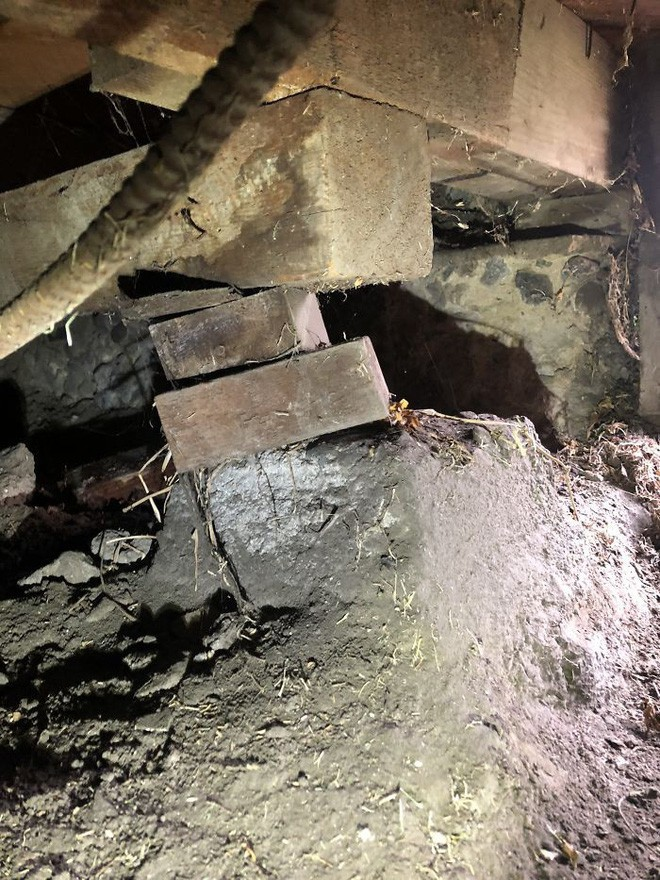 [Ảnh] Vài thứ cực tồi tệ được phát hiện khi kiểm tra kết cấu những căn hộ cũ - Ảnh 8.
