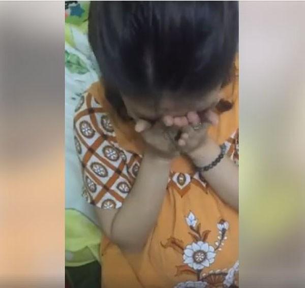 Clip: Vợ bầu tháng cuối và màn ôm mặt khóc ăn vạ khiến chồng toát mồ hôi hột - Ảnh 2.