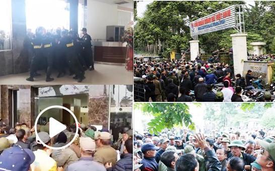 Hình ảnh nổi cộm trên MXH hôm nay: Các thương binh lao xe vào trụ sở VFF, ăn cơm tại 'trận' để đòi mua vé chung kết AFF Cup