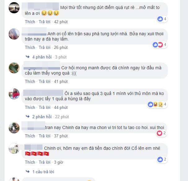 Facebook của Hà Đức Chinh bị đánh hội đồng sau khi bỏ lỡ cơ hội trong trận chung kết - Ảnh 4.