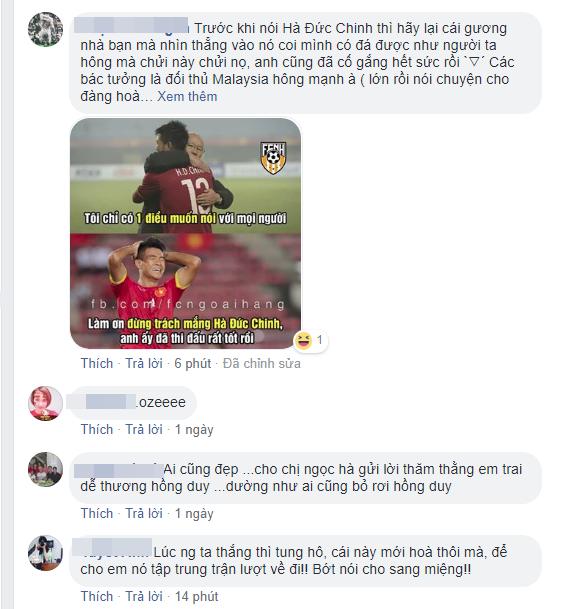Facebook của Hà Đức Chinh bị đánh hội đồng sau khi bỏ lỡ cơ hội trong trận chung kết - Ảnh 5.