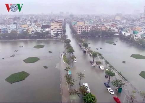 Quảng Nam, Quảng Ngãi tiếp tục có mưa rất to, cảnh báo lũ quét  - Ảnh 1.
