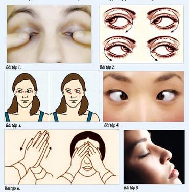 8 bài tập cho mắt sáng khỏe - Ảnh 1.