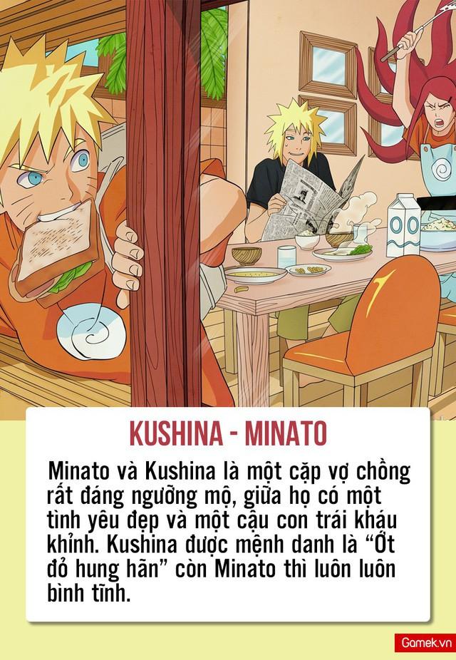 Tình yêu là sự bù trừ, nhìn 6 cặp vợ chồng này hạnh phúc trong Naruto là thấy định luật này không hề sai - Ảnh 3.