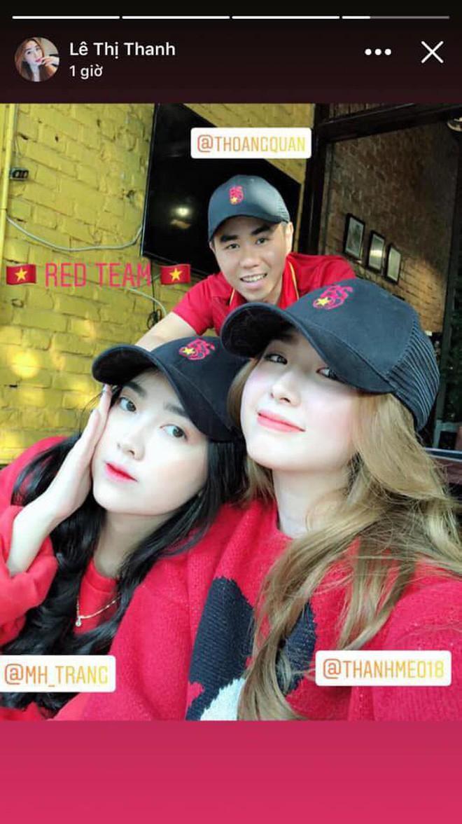 Cùng bị đồn yêu Hà Đức Chinh và Bùi Tiến Dũng, tình chị ngã em nâng của hai cô gái xinh đẹp bỗng được chú ý - Ảnh 5.