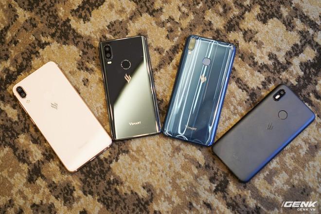 Cận cảnh 4 smartphone Vsmart vừa được ra mắt: thiết kế hiện đại, cấu hình ổn, giá từ 2,49 triệu - Ảnh 1.