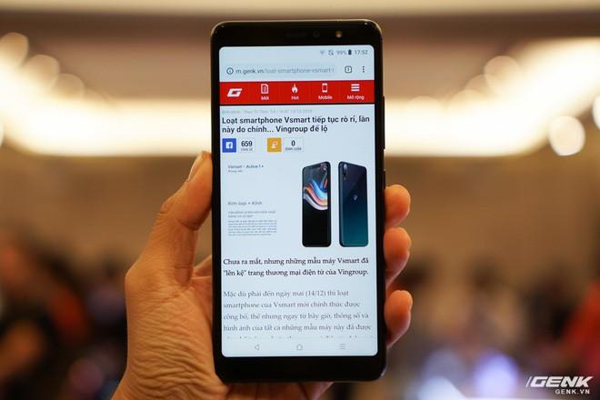 Cận cảnh 4 smartphone Vsmart vừa được ra mắt: thiết kế hiện đại, cấu hình ổn, giá từ 2,49 triệu - Ảnh 10.