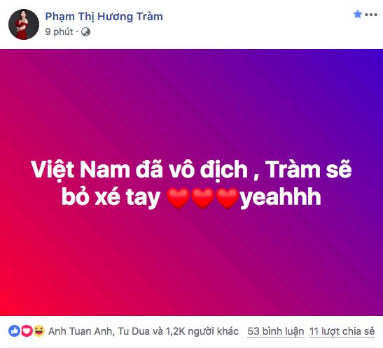 Việt Nam vô địch: Tiểu Vy lao xuống đường đi bão, Hương Tràm hứa từ bỏ thói quen đáng sợ - Ảnh 5.