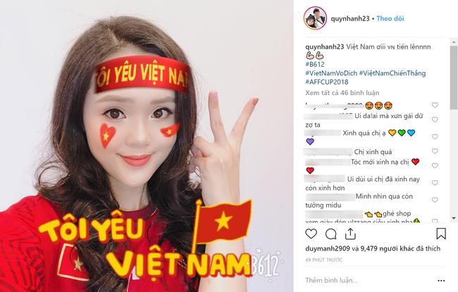 Đây là cách bạn gái Duy Mạnh, Quang Hải tiếp thêm sức mạnh cho người yêu trước trận cầu lịch sử Việt Nam - Malaysia - Ảnh 1.