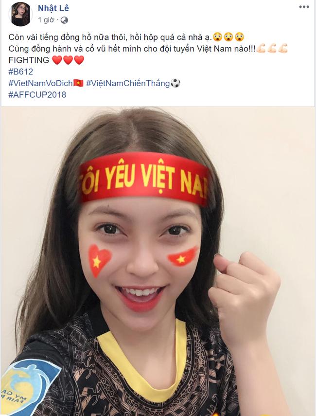 Đây là cách bạn gái Duy Mạnh, Quang Hải tiếp thêm sức mạnh cho người yêu trước trận cầu lịch sử Việt Nam - Malaysia - Ảnh 5.