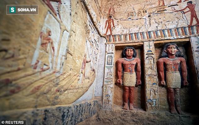 Bí ẩn lăng mộ 4.400 năm tuổi ở Ai Cập: Không phải Pharaoh nhưng có tới 5 hầm ngầm - Ảnh 2.