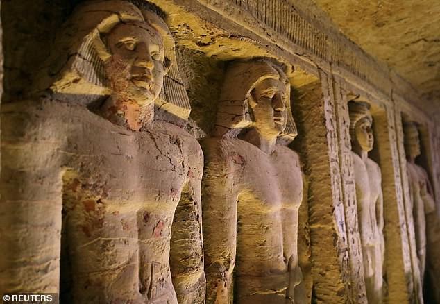 Bí ẩn lăng mộ 4.400 năm tuổi ở Ai Cập: Không phải Pharaoh nhưng có tới 5 hầm ngầm - Ảnh 1.