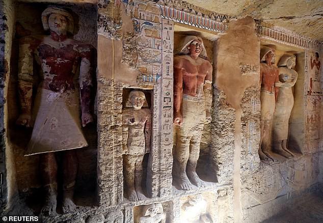Bí ẩn lăng mộ 4.400 năm tuổi ở Ai Cập: Không phải Pharaoh nhưng có tới 5 hầm ngầm - Ảnh 3.