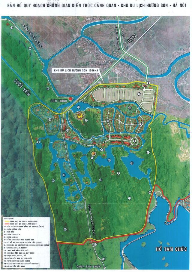 Nhiều lo ngại về siêu dự án tâm linh 15.000 tỉ tại Chùa Hương - Ảnh 1.
