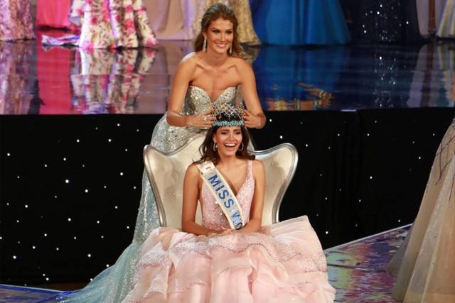Trả thù 10 năm chưa muộn: Hoa hậu Philippines từng khóc vì thua Puerto Rico tại Miss World, nay tình thế đảo ngược - Ảnh 2.