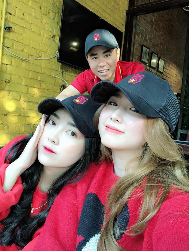 Lộ thêm bằng chứng Bùi Tiến Dũng - Đức Chinh hẹn hò đôi với 2 cô bạn gái tin đồn, đi đâu cũng có nhau - Ảnh 5.