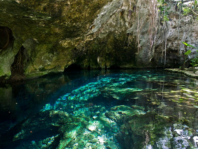 Khám phá hang động dưới nước lớn nhất thế giới Sac Actun - Ảnh 1.