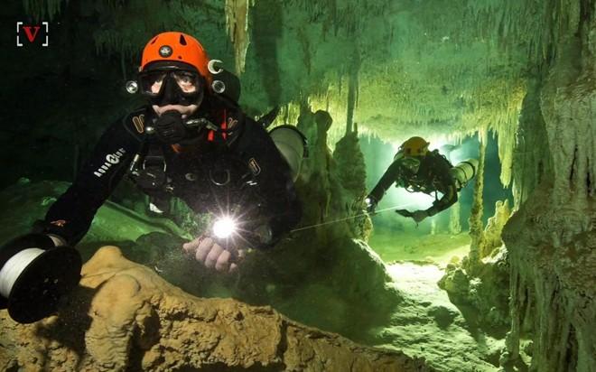 Khám phá hang động dưới nước lớn nhất thế giới Sac Actun - Ảnh 2.