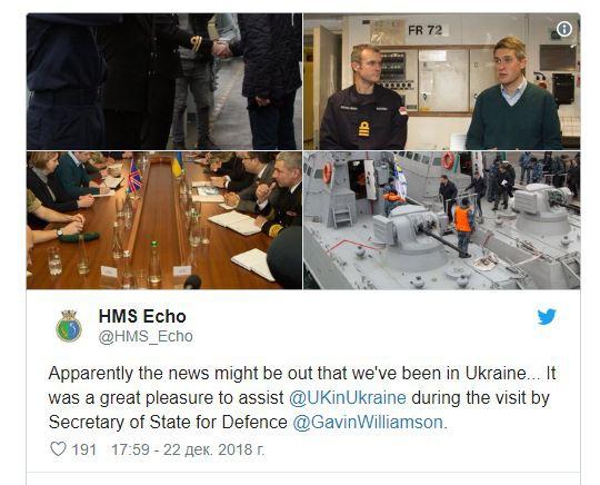 Ukraine xui tàu Anh đi qua eo biển Kerch để thử Nga, Moscow đáp lời: Quá điên dại! - Ảnh 1.