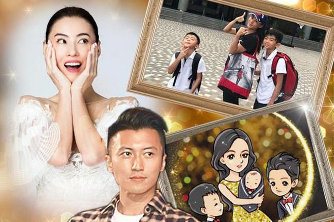 Trương Bá Chi chỉ nói 1 câu ngắn gọn về tin đồn sinh con thứ 3 cho Tạ Đình Phong, chuẩn bị làm đám cưới - Ảnh 1.