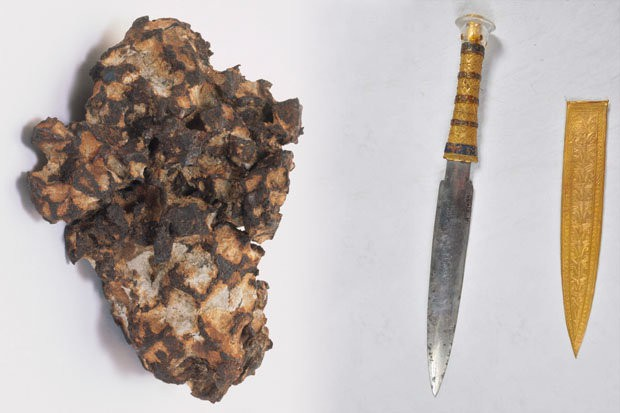 Tìm thấy vũ khí hơn 3.000 năm không gỉ sét ở lăng mộ: Nghi vấn của người ngoài hành tinh - Ảnh 2.