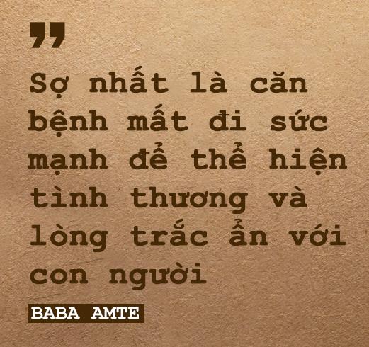 Baba Amte: Sinh ra trong gia đình giàu có nhưng dành cả đời vì người nghèo mắc bệnh phong - Ảnh 2.