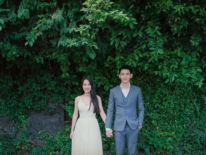 Hot girl Lào gốc Việt lên xe hoa sau hơn 2 năm hẹn hò với người yêu điển trai - Ảnh 3.