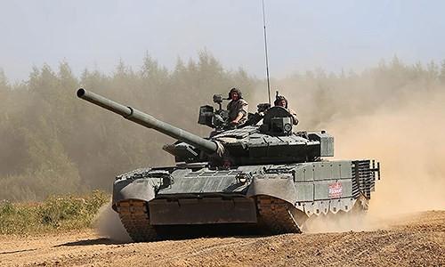 [ẢNH] Chiến tăng bay T-80BVM Nga trang bị đạn Uranium nguy hiểm cỡ nào? - Ảnh 13.