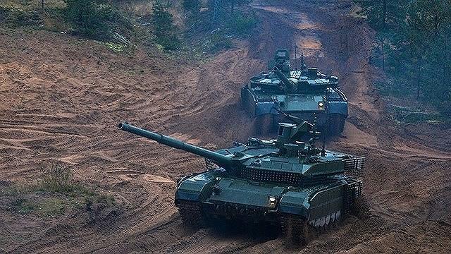 [ẢNH] Chiến tăng bay T-80BVM Nga trang bị đạn Uranium nguy hiểm cỡ nào? - Ảnh 3.
