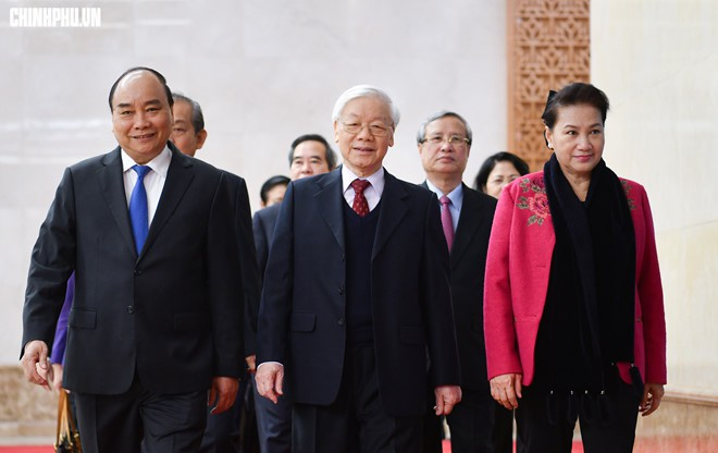 Tổng Bí thư, Chủ tịch nước Nguyễn Phú Trọng: Kiên quyết đấu tranh loại bỏ những người tham nhũng, hư hỏng - Ảnh 1.