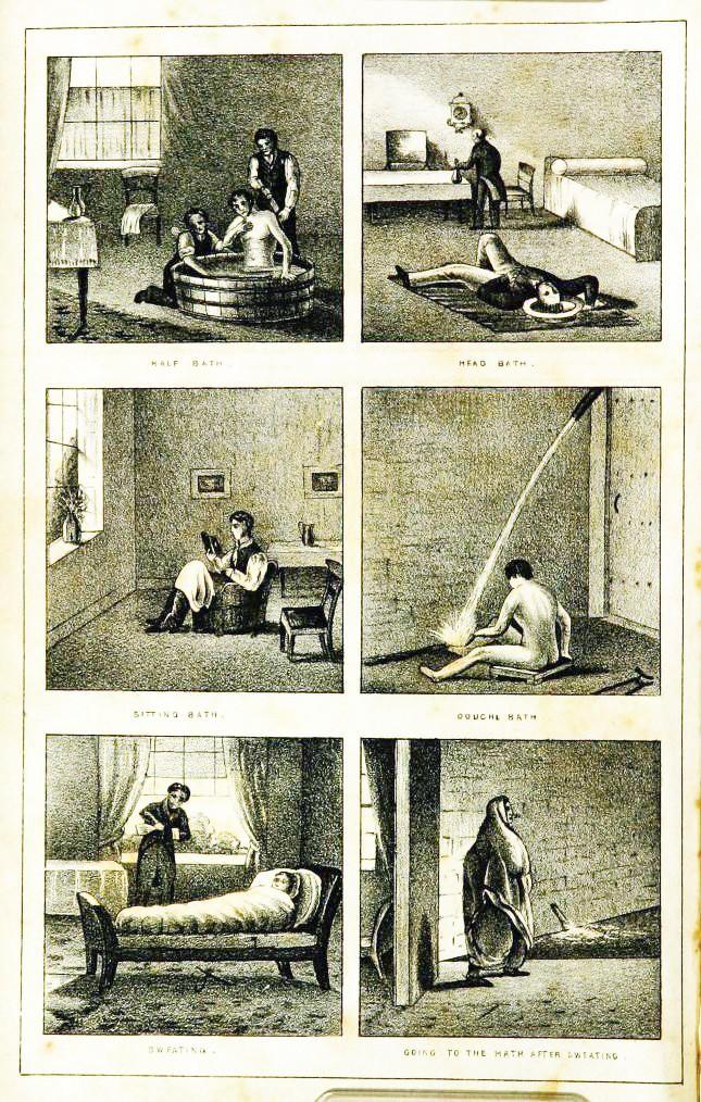 Chuyện đi tắm cũng có lịch sử đen tối: Được sử dụng như một kiểu tra tấn để chữa bệnh tâm thần - Ảnh 1.