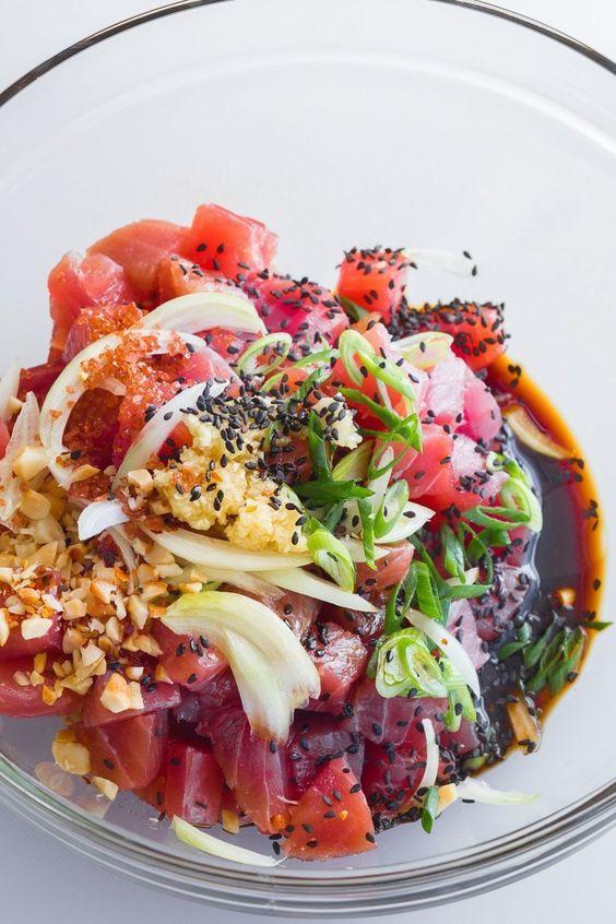 Poke: Kết quả mối tình hơi ngang trái của ẩm thực Mỹ và Nhật, lai lai giữa salad và sushi - Ảnh 2.
