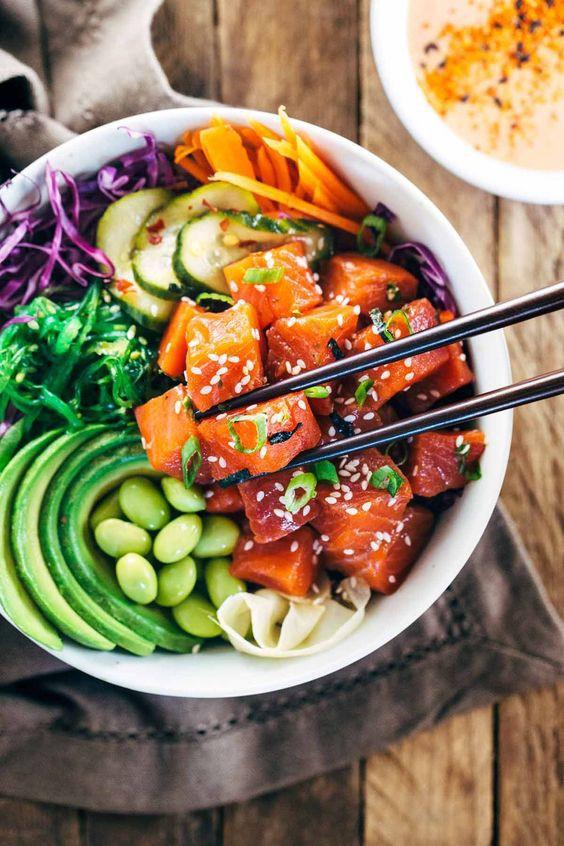 Poke: Kết quả mối tình hơi ngang trái của ẩm thực Mỹ và Nhật, lai lai giữa salad và sushi - Ảnh 4.