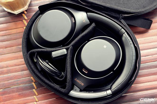 Tai nghe Sony WH-1000XM3: Chống ồn bá đạo, 10 phút sạc cho 5 giờ nghe nhạc, giá rẻ hơn phiên bản cũ! - Ảnh 20.