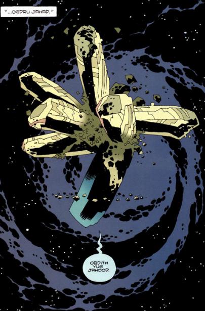 Truyền thuyết về The Dragon Ogdru Jahad, con quái vật mạnh nhất vũ trụ Hellboy với quyền năng huỷ diệt tất cả - Ảnh 2.