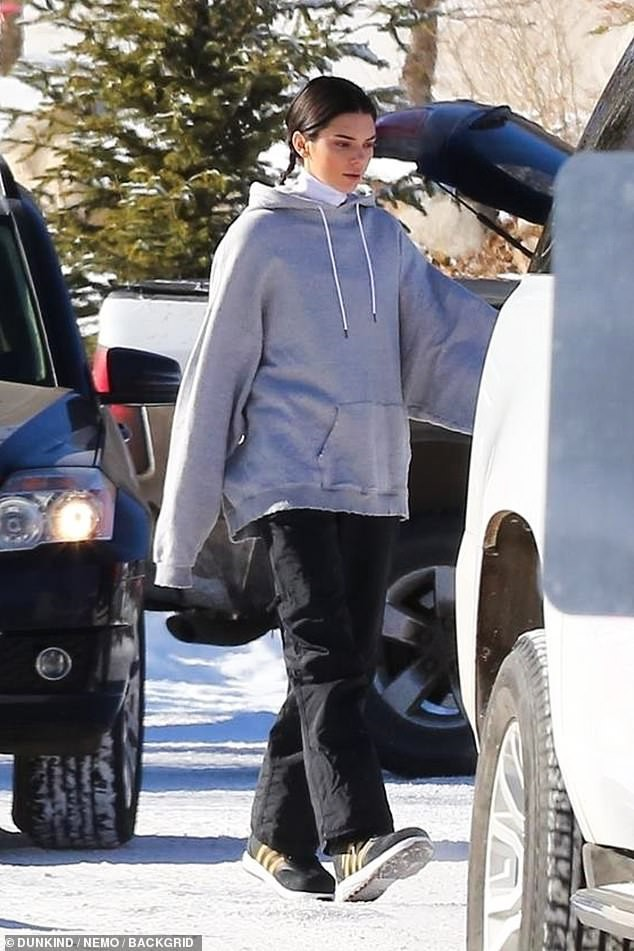 Sống ảo chịu chơi như Kendall Jenner: Trời tuyết âm độ vẫn mặc bikini khoe body sexy triệu người mê - Ảnh 4.