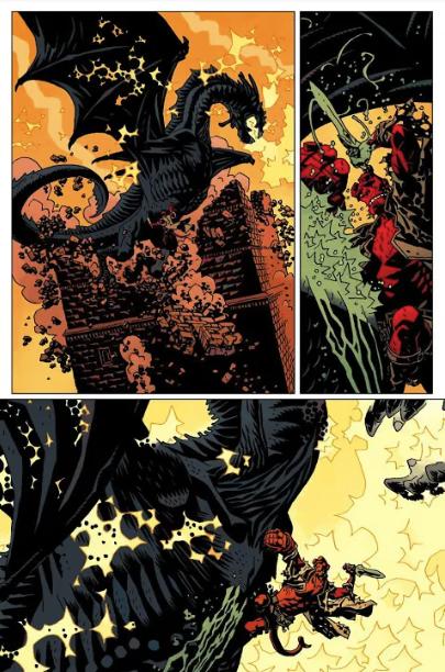 Truyền thuyết về The Dragon Ogdru Jahad, con quái vật mạnh nhất vũ trụ Hellboy với quyền năng huỷ diệt tất cả - Ảnh 7.