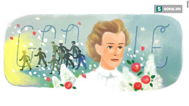 Trang chủ Google 4/12 vinh danh Edith Cavell - Nữ y tá anh hùng thời Thế chiến I - Ảnh 1.
