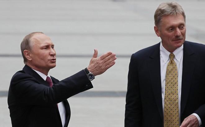 Phát ngôn viên của Putin nói về