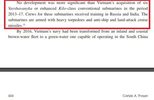 Giáo sư Thayer: Hải quân Việt Nam đã có đột phá lớn với tàu ngầm Kilo-636 - Ảnh 4.