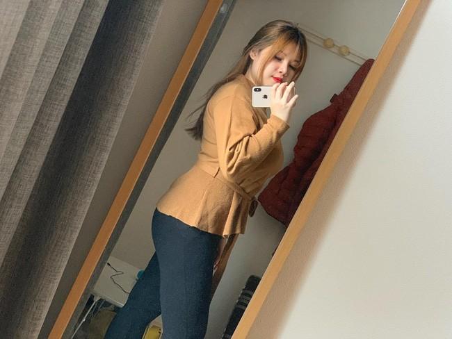 Diện mạo mới của hot girl ngực khủng sau khi bỏ bạn trai, sang Nhật du học 2 tháng - Ảnh 5.