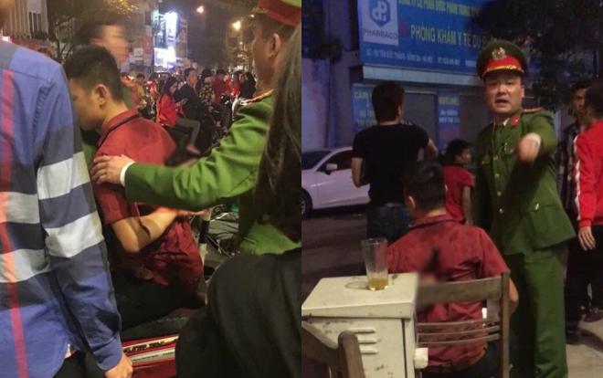 Hai nhóm người xảy ra ẩu đả sau màn ăn mừng chiến thắng đội tuyển Việt Nam, nam thanh niên bị đâm dao găm vào người - Ảnh 1.
