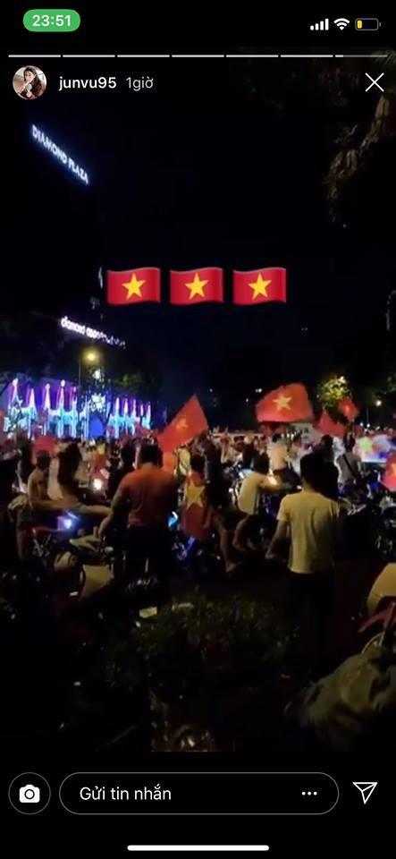 Dàn sao Vbiz đang ăn mừng tuyển Việt Nam vào chung kết: Mỗi người một kiểu, ai cũng vui nổ trời! - Ảnh 10.