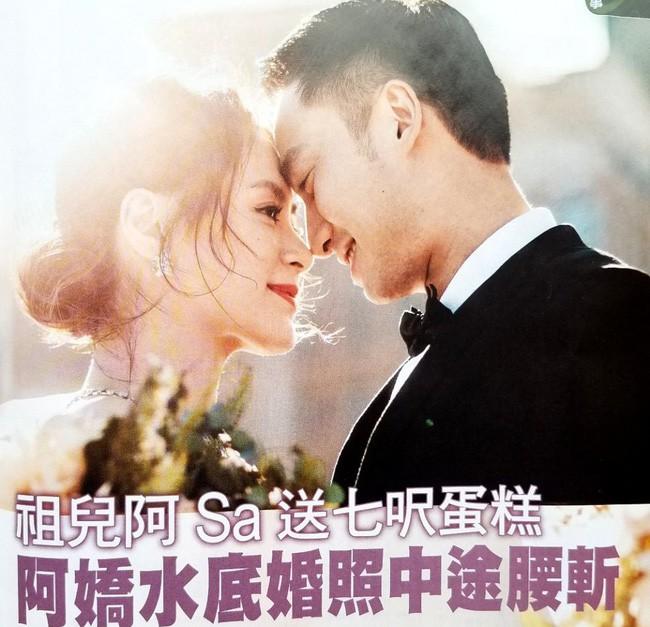 Sát ngày cưới, Chung Hân Đồng bất ngờ trải lòng về việc hoãn sinh con - Ảnh 1.
