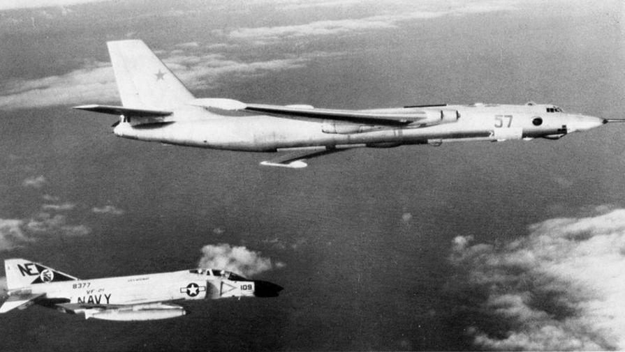 Os Estados Unidos foram pegos de surpresa, eles não tinham conhecimento de um projeto de bombardeiro a jato soviético.